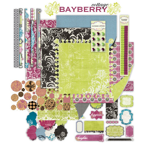 Pink Paislee - Bayberry Cottage Collection Kit