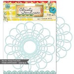 Pink Paislee - She Art Collection - 6 x 6 Stencil Mask - Vintage Doily