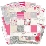 Pink Paislee - Secret Crush Collection - 12 x 12 Paper Pack