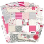 Pink Paislee - Secret Crush Collection - 6 x 6 Petite Paper Pack