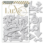 Pink Paislee - Luxe Collection - Foil Chipboard Shapes - Arrows