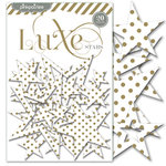 Pink Paislee - Luxe Collection - Foil Chipboard Shapes - Stars