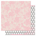 Pink Paislee - Secret Crush Collection - 12 x 12 Double Sided paper - Polka Dance