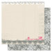 Pink Paislee - Secret Crush Collection - 12 x 12 Double Sided paper - Bouquet