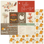 Photo Play Paper - Autumn Day Collection - 12 x 12 Double Sided Paper - Pumpkin Patch