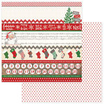 Photo Play Paper - Dear Santa Collection - Christmas - 12 x 12 Double Sided Paper - Fa La La