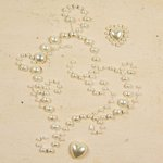 Prima - E Line - Say It In Pearls Collection - Self Adhesive Jewel Art - Bling - Loves Desire