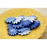 Prima - E Line - Daisy Delicacies Collection - Flower Embellishments - Blue