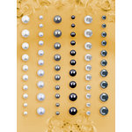Prima - E Line - Self Adhesive Pearls and Crystals - Bling - Assortment 6