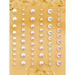 Prima - E Line - Self Adhesive Pearls and Crystals - Bling - Assortment 7