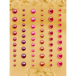 Prima - E Line - Self Adhesive Pearls and Crystals - Bling - Assortment 9