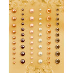 Prima - E Line - Self Adhesive Pearls and Crystals - Bling - Assortment 11