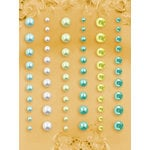 Prima - E Line - Self Adhesive Pearls and Crystals - Bling - Assortment 15