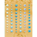 Prima - E Line - Self Adhesive Pearls and Crystals - Bling - Assortment 17