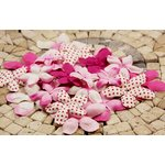 Prima - E Line - Flower Embellishments - Fuchsia Mix 2, CLEARANCE