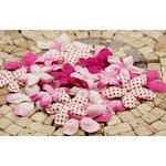 Prima - E Line - Flower Embellishments - Fuchsia Mix 2, CLEARANCE