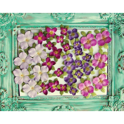 Prima - Caboodles Collection - Flower Can - Mix 4