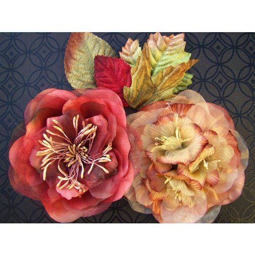 Prima - Juliette Collection - Flowers - Peach