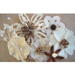 Prima - Wildwood Collection - Wood and Mulberry Flowers - Mushroom