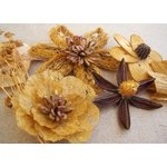 Prima - Wildwood Collection - Wood and Mulberry Flowers - Saffron