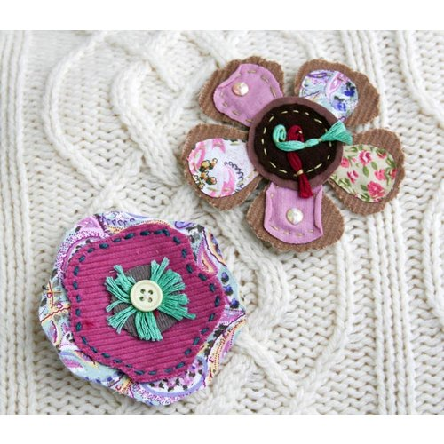 Prima - Primrose Collection - Fabric Flowers - Dora