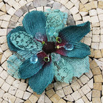 Prima - Homespun Elegance Collection - Flower Embellishments - Big Lake