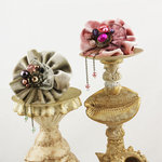 Prima - Gibson Collection - Flower Embellishments - Irene