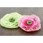 Prima - Gypsy Petals Collection - Flower Embellishments - Soho