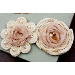 Prima - Romani Rose Collection - Flower Embellishments - Seashell