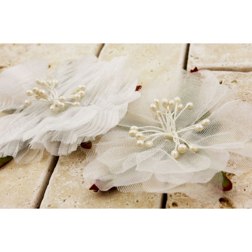 Prima - Fleur Danseur Collection - Flower Embellishments - Swan Lake, CLEARANCE