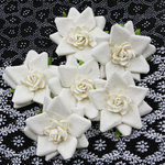 Prima - Alabaster Collection - Flower Embellishments - Abbey