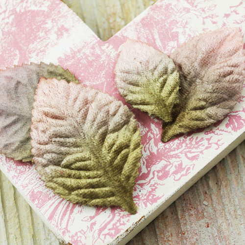 Prima - Heirloom Rose Collection - Velvet Leaves - Meadow