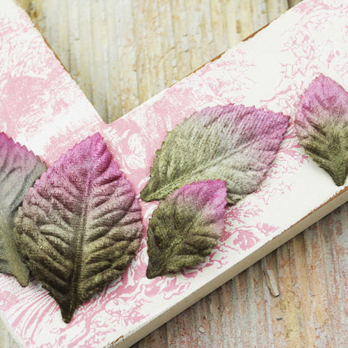 Prima - Heirloom Rose Collection - Velvet Leaves - Vineyard, BRAND NEW