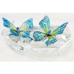 Prima - Jewel Box Collection - Jeweled Butterflies - Peacock