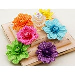 Prima - Evelyn Collection - Flower Embellishments - Emma Multi
