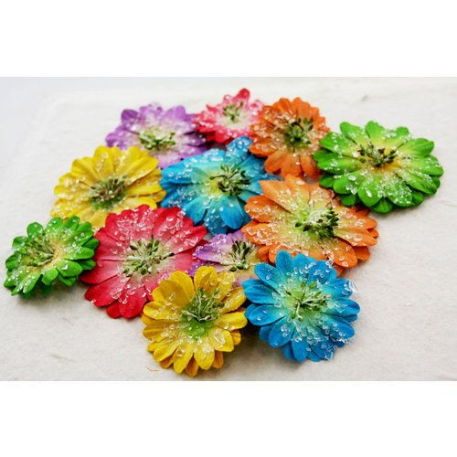 Prima - Evelyn Collection - Flower Embellishments - Sugar Daisy