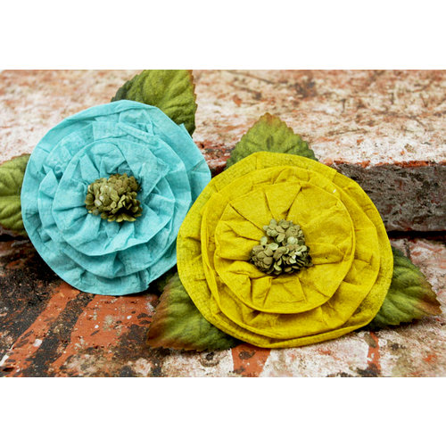 Prima - Fairyring Flowers Collection - Flower Embellishments - Sunlight