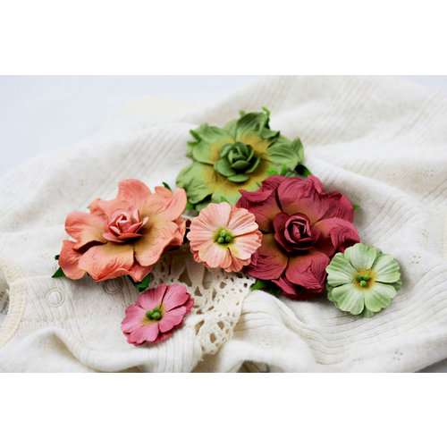 Prima - Camelot Collection - Flower Embellishments - Burton