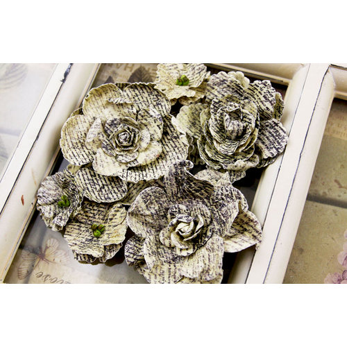 Prima - Gallery Roses Collection - Flower Embellishments - Novella