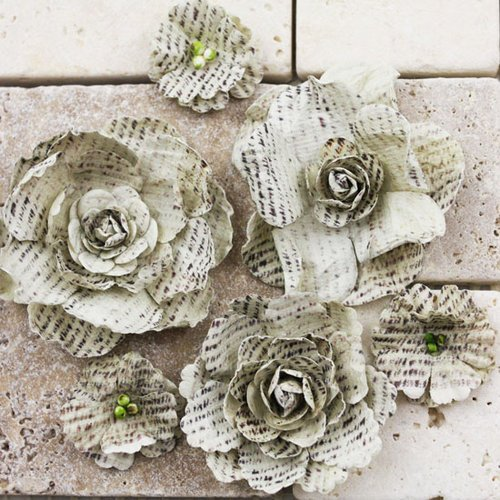 Prima - Gallery Roses Collection - Flower Embellishments - Quillen