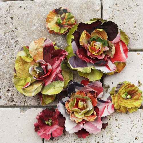 Prima - Gallery Roses Collection - Flower Embellishments - Marcel , CLEARANCE
