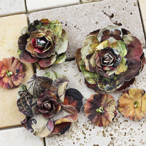 Prima - Gallery Roses Collection - Flower Embellishments - Caterine