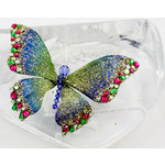 Prima - Bejeweled Butterflies Collection - Blue Butterfly