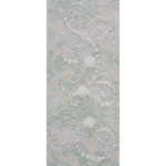 Prima - Say It In Pearls Collection - Self Adhesive Jewel Art - Bling - Fairy Magic with Flowers - Cream