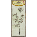 Prima - Say It In Pearls Collection - Self Adhesive Jewel Art - Bling - Flower Stem - Gray, CLEARANCE