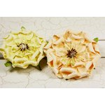 Prima - Fiesta Collection - Layered Paper Flower Embellishments - Orchard, CLEARANCE