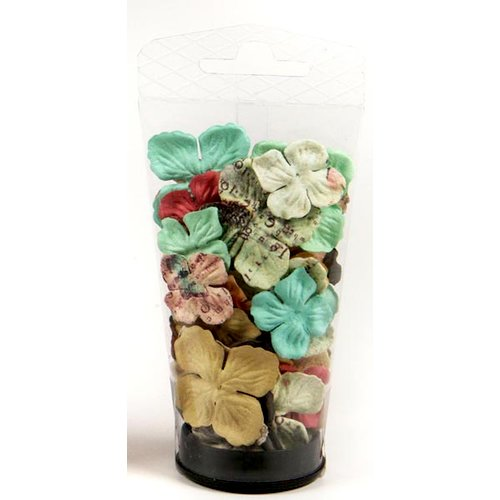 Prima - Flights of Fancy Collection - Flower Embellishments - Essentials Small, CLEARANCE