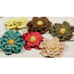 Prima - Shabby Chic Collection - Flower Embellishments - Mix 2, CLEARANCE