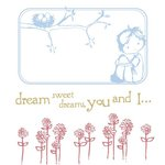 Prima - Jack and Jill Collection - Clear Acrylic Stamps and Self Adhesive Jewels - Mix 2