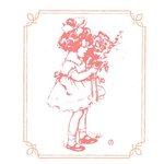Prima - Fairy Flora Collection - Clear Acrylic Stamps and Self Adhesive Jewels - Mix 2